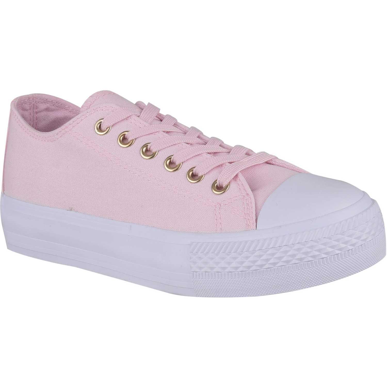 Zapatillas de Mujer Platanitos Rosado zc 8043