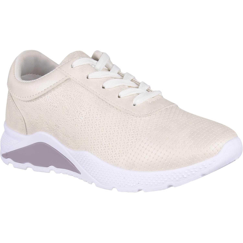 Zapatillas de Mujer Platanitos Blanco z o004
