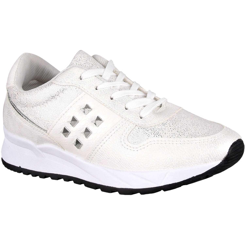 Zapatillas de Mujer Platanitos Blanco z n02
