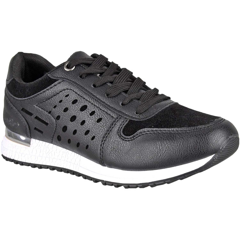 Zapatillas de Mujer Platanitos Negro z 521