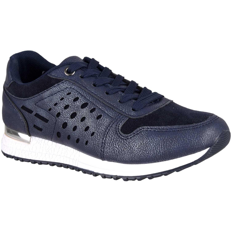 Zapatillas de Mujer Platanitos Azul z 521