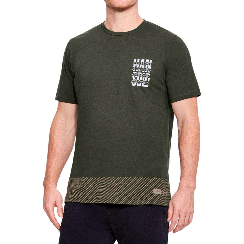 Under Armour han solo blaster ss Olivo Camisetas y Polos Deportivos
