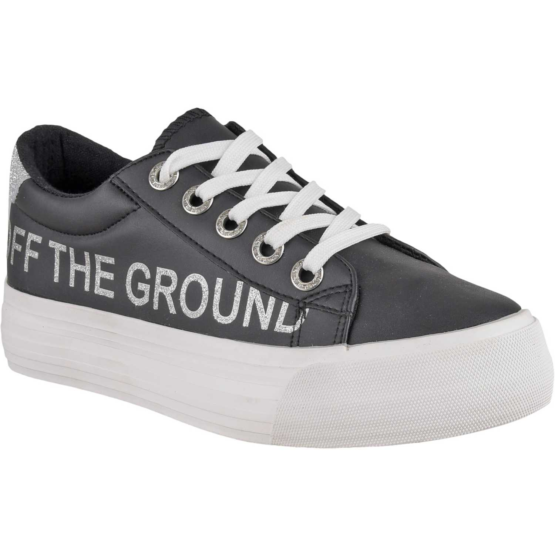 Zapatillas de Mujer Platanitos Negro zc 8103