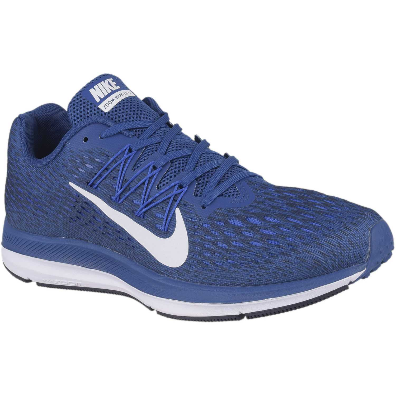 Nike nike zoom winflo 5 Azul / blanco Running en pista