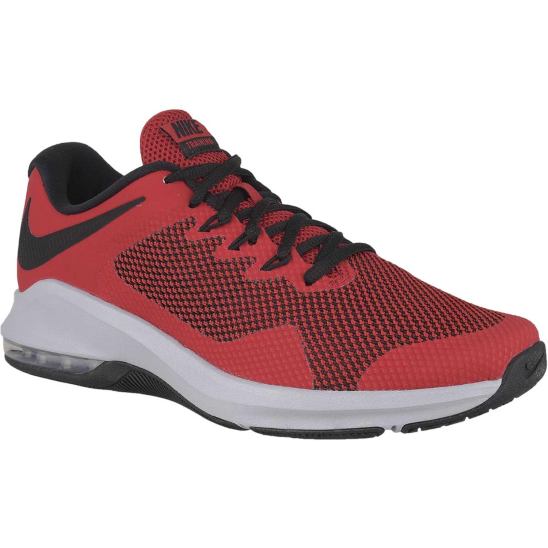 Deportivo de Hombre Nike Rojo negro nike air max alpha