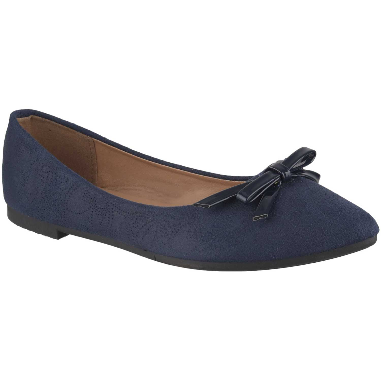 Ballerina de Mujer Platanitos Azul ch 6545