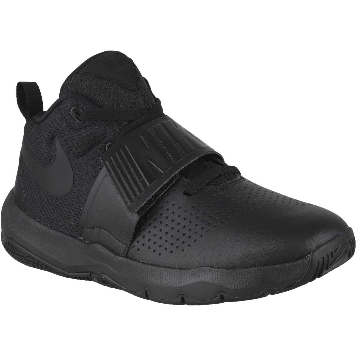 Nike team hustle d 8 bg Negro / negro Walking