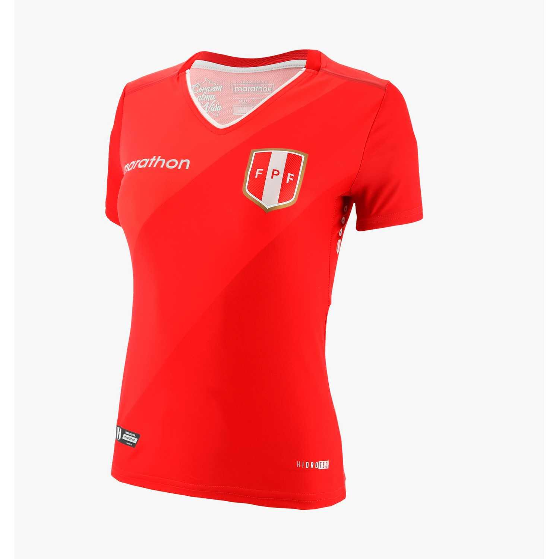 Marathon fpf wmns away fan jersey Rojo Camisetas y Polos Deportivos