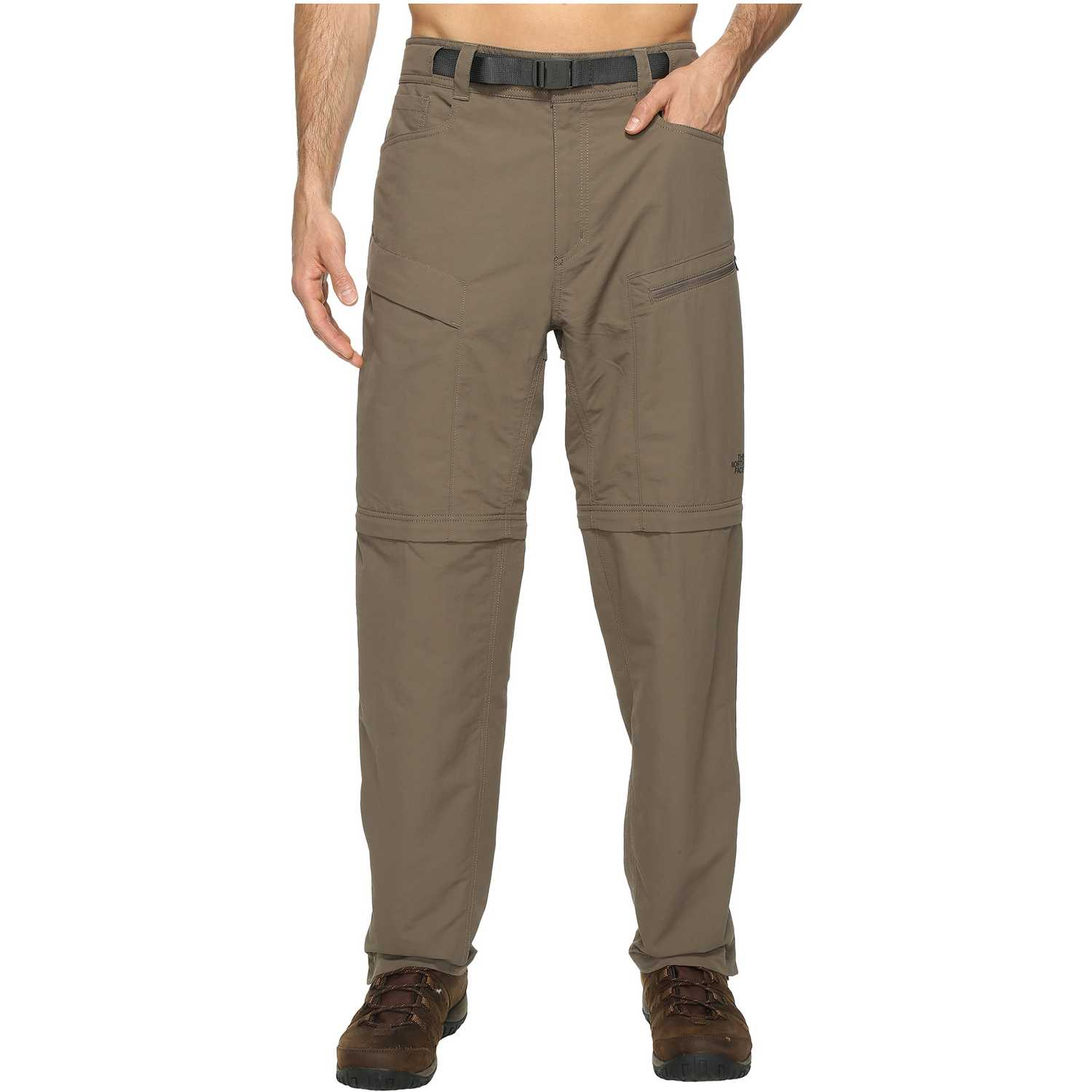 The North Face m paramount trail convertible pant Kaki Pantalones Deportivos