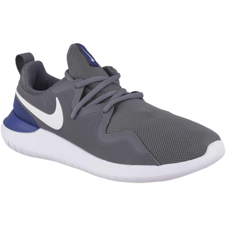 Bolos Nevada Adoración  Nike Nike Tessen Gris / azul Para caminar | platanitos.com