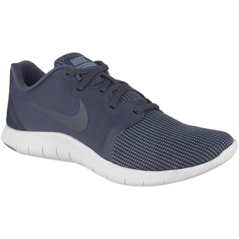 Nike nike flex contact 2 Acero / blanco Running en pista