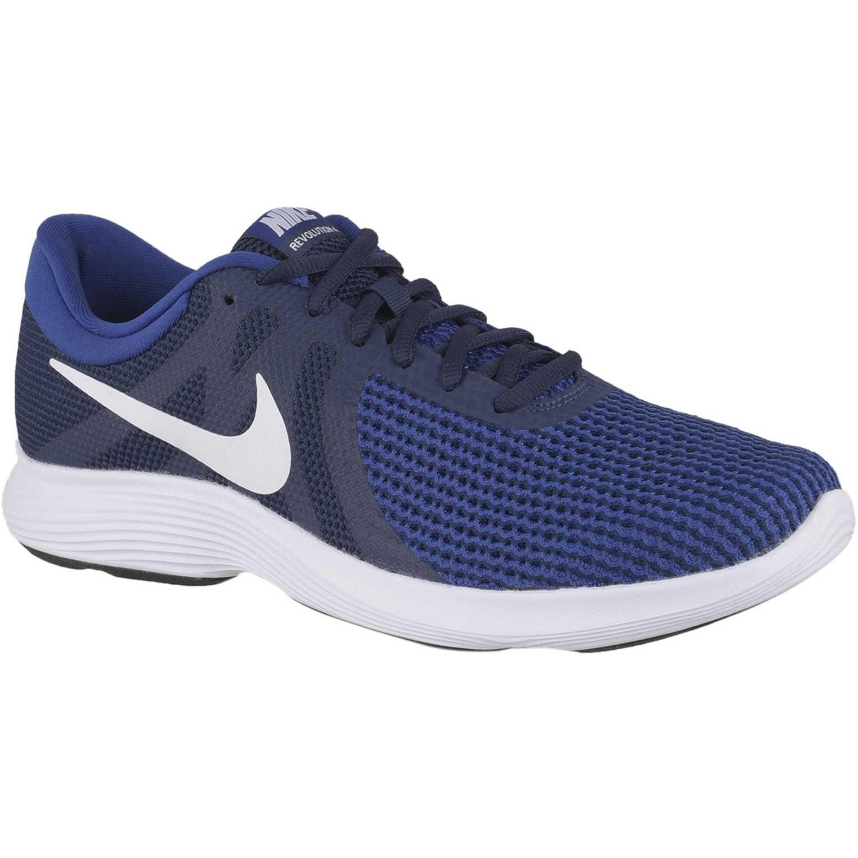 Nike nike revolution 4 Azul / negro Running en pista ...