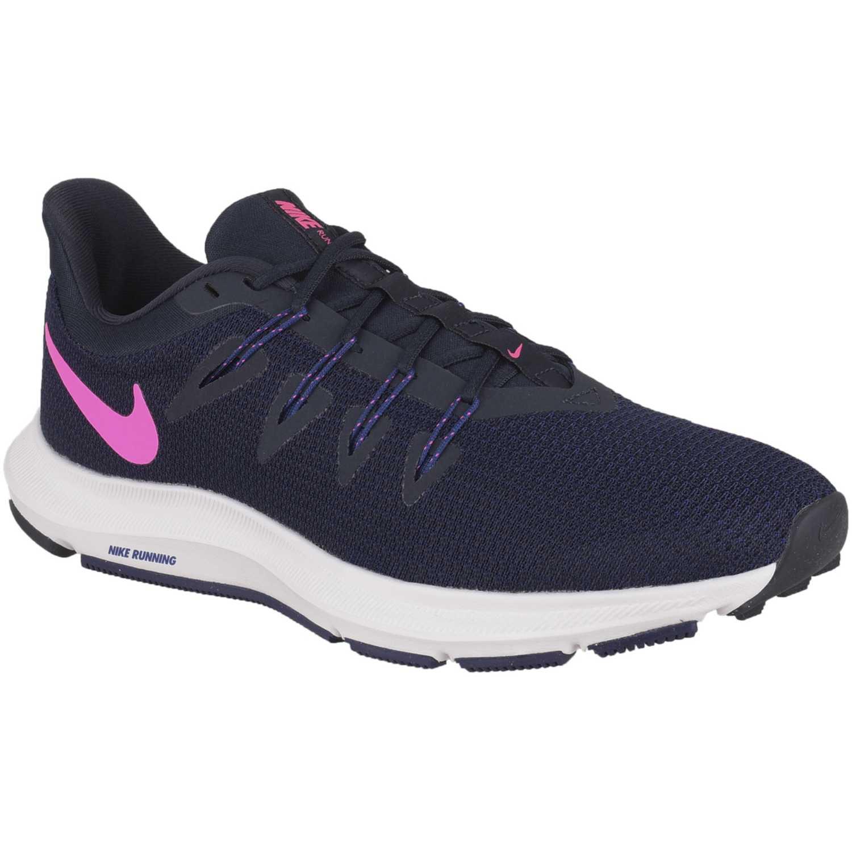 Nike wmns nike quest Azul rosado Running en pista