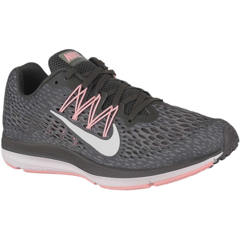 Deportivo de Mujer Nike Plomo / rosado wmns nike zoom winflo 5