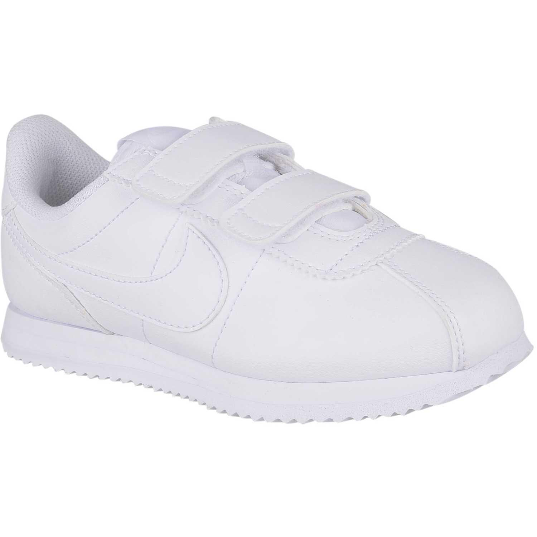 Nike cortez basic s Blanco/blanco Walking