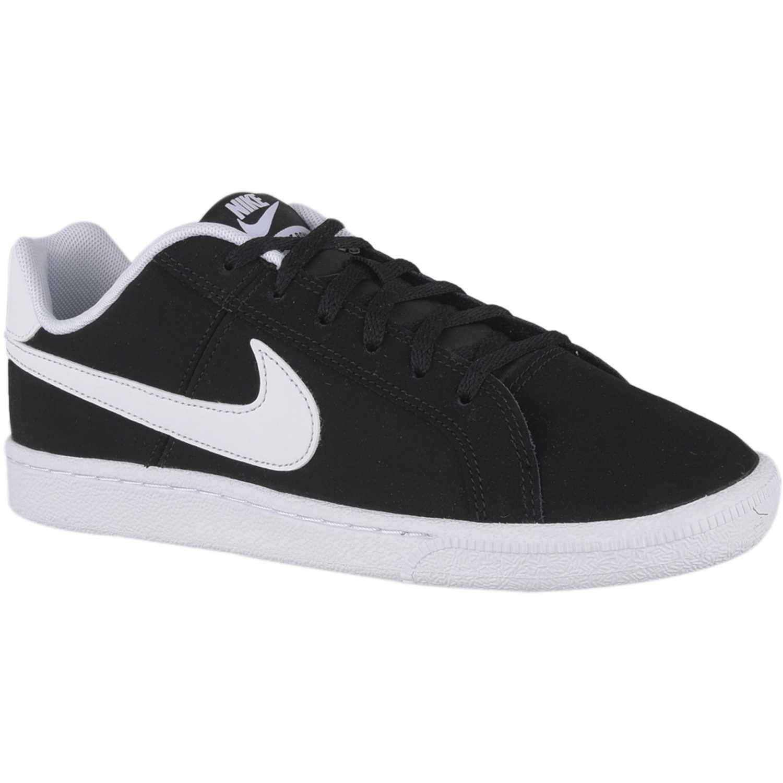 Zapatilla de Jovencito Nike Negro / blanco nike court royale bg