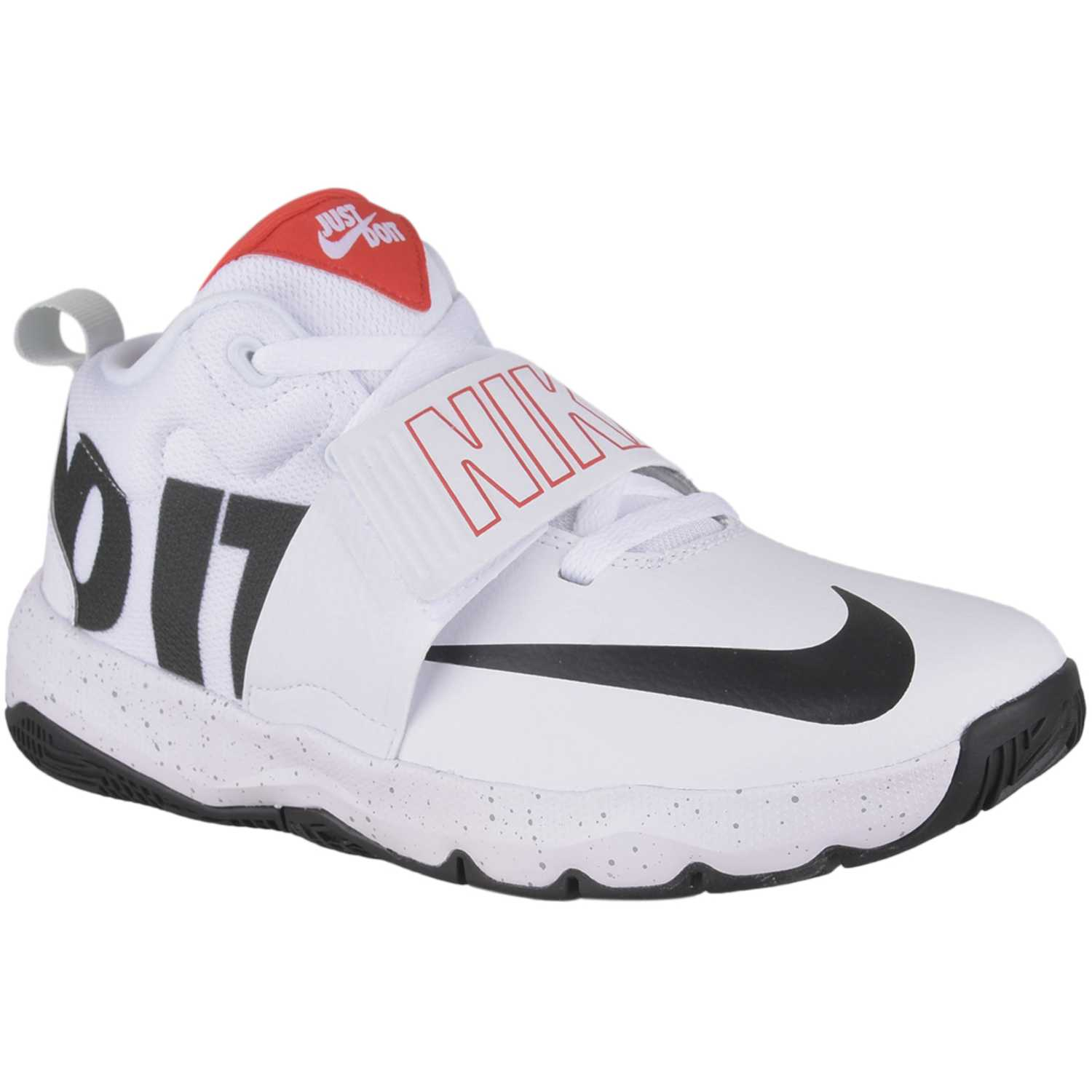 Nike team hustle d 8 jdi bg Blanco / negro Walking
