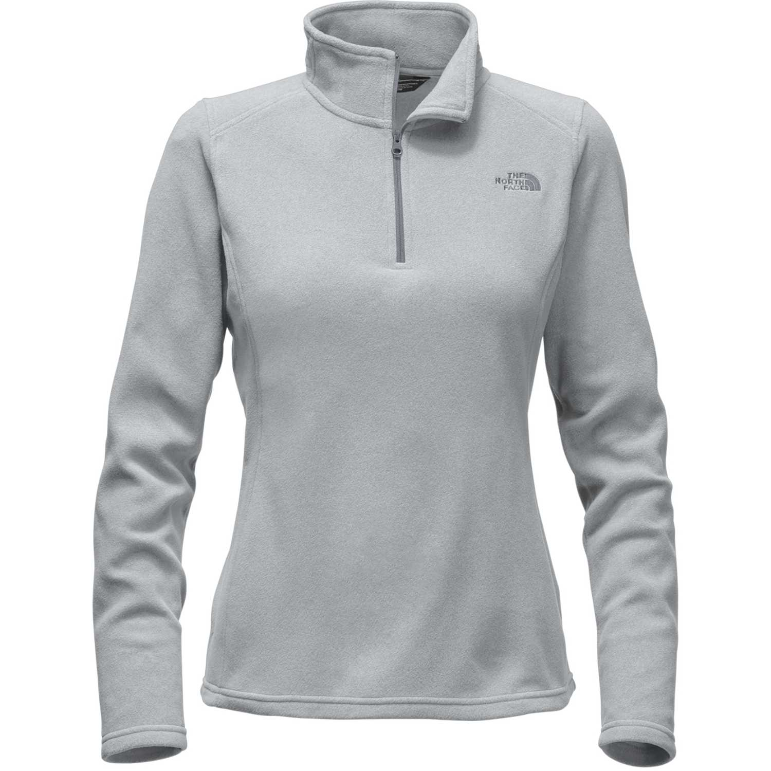 Polera de Mujer The North Face Gris w glacier 1/4 zip