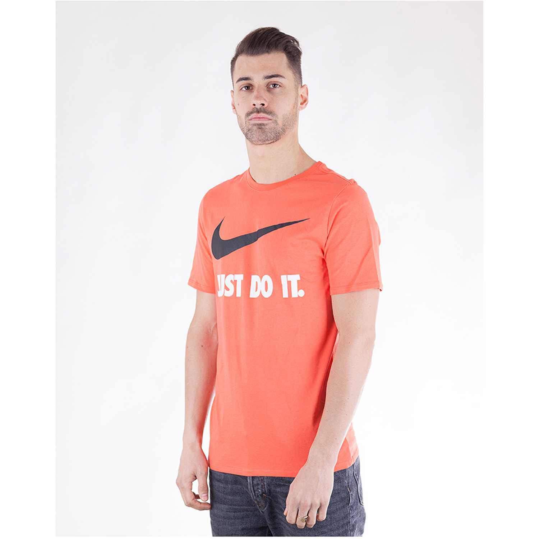 Polo de Hombre Nike Rojo m nsw tee jdi swoosh new