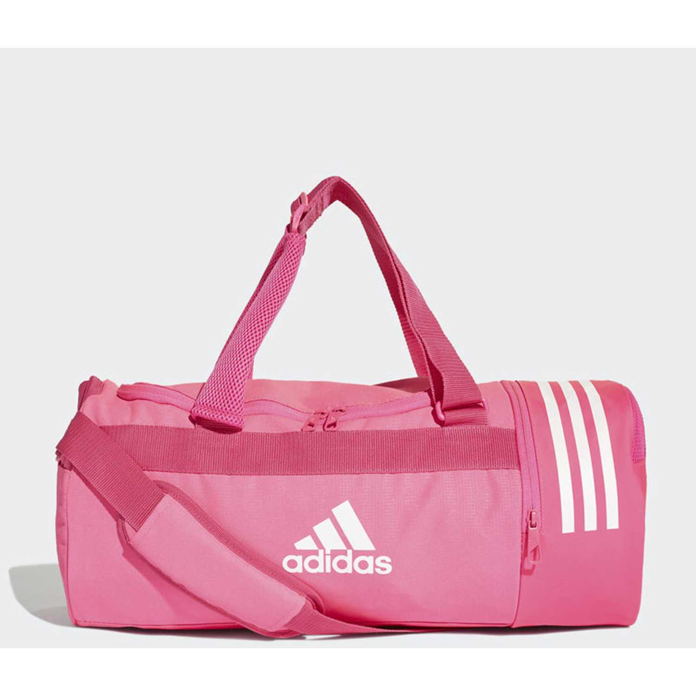 Adidas cvrt 3s duf s Rosado Bolsos de gimnasio | platanitos.com