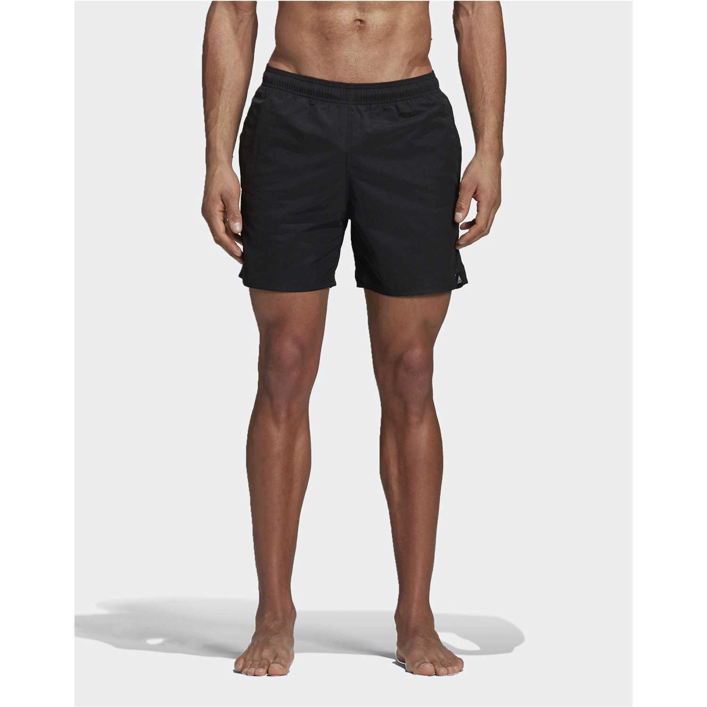 Adidas solid sh sl Negro Shorts Deportivos
