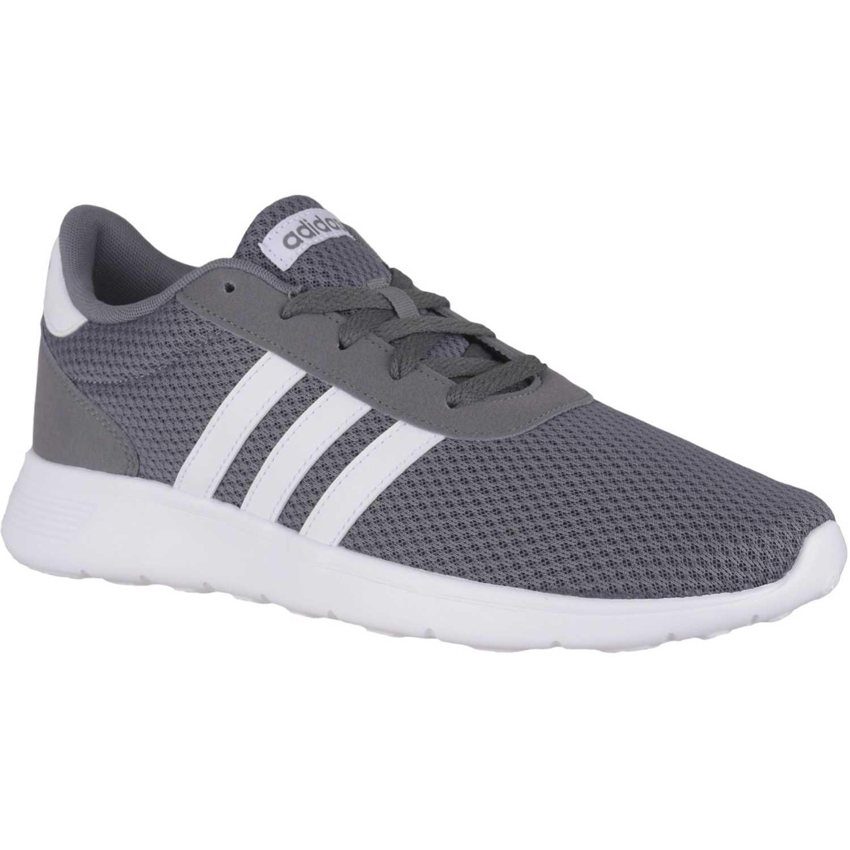 Adidas lite racer Gris Running en pista