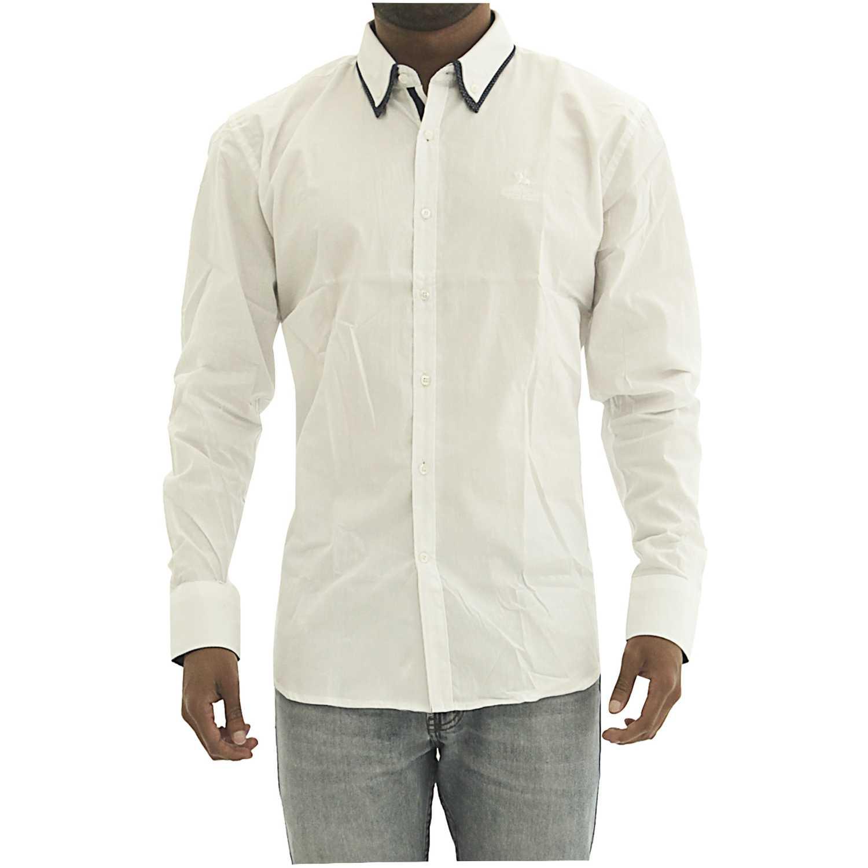 Camisas de Hombre BERKSHIRE POLO CLUB Blanco camisa-159-1335661