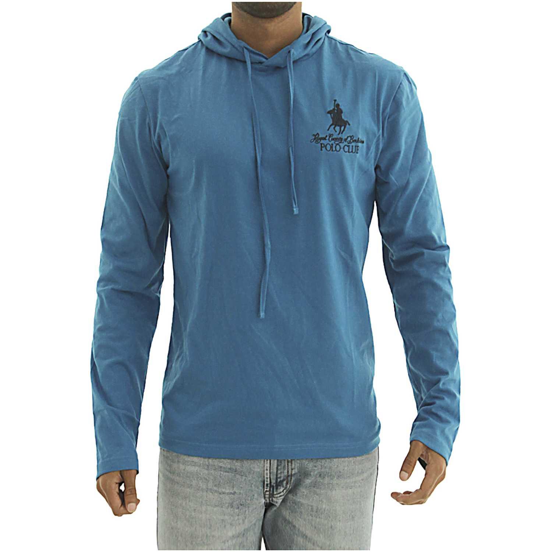 BERKSHIRE POLO CLUB polera-159-1536957 Turquesa Hoodies y Sweaters Fashion