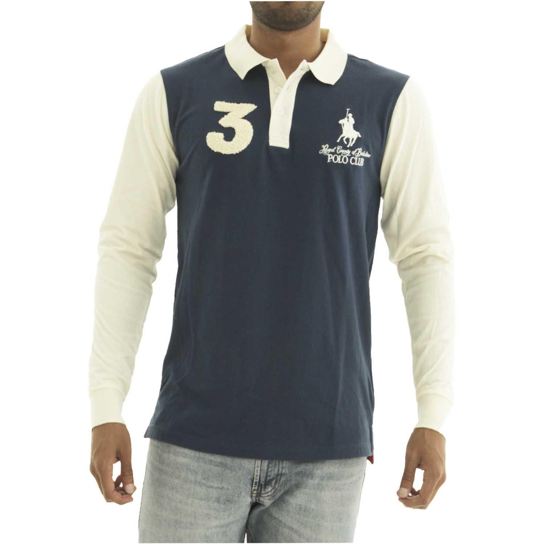 BERKSHIRE POLO CLUB polera-159-1536301 Azul Hoodies y Sweaters Fashion