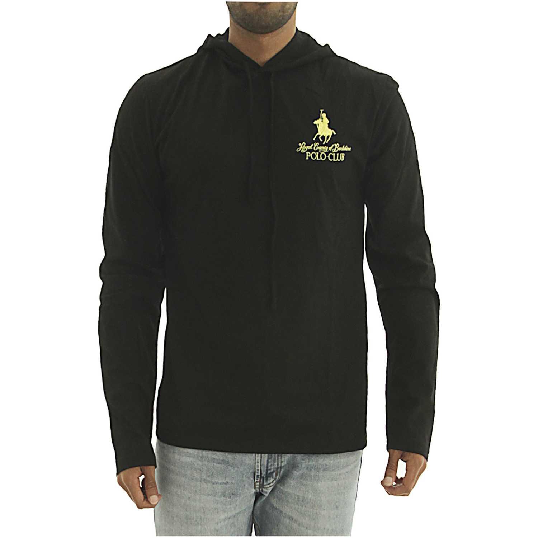 BERKSHIRE POLO CLUB polera-159-1536957 Negro Hoodies y Sweaters Fashion