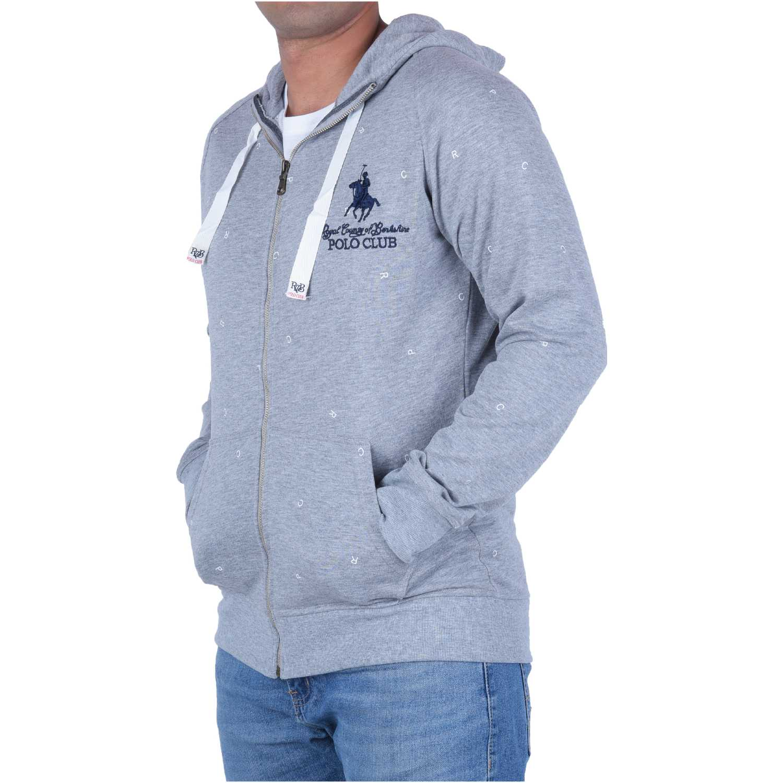 BERKSHIRE POLO CLUB polera-159-1536927 Gris Hoodies y Sweaters Fashion