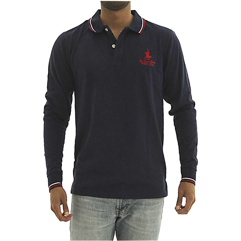 BERKSHIRE POLO CLUB polera-159-70381 Azul Hoodies y Sweaters Fashion