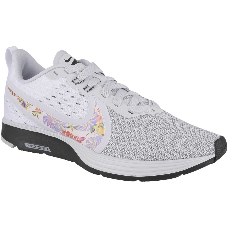 Nike w nike zoom strike 2 premium Gris / negro Running en pista