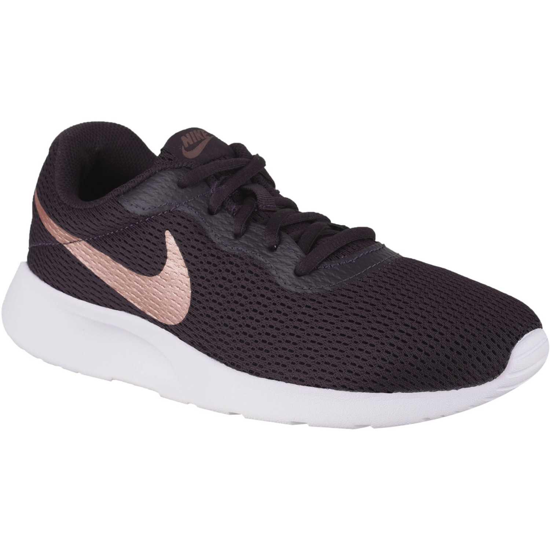 Zapatilla de Mujer Nike Vino / blanco wmns nike tanjun