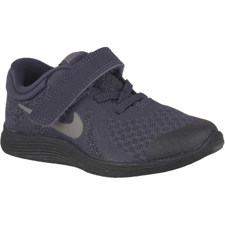 Zapatilla de Niño Nike Acero nike revolution 4 btv