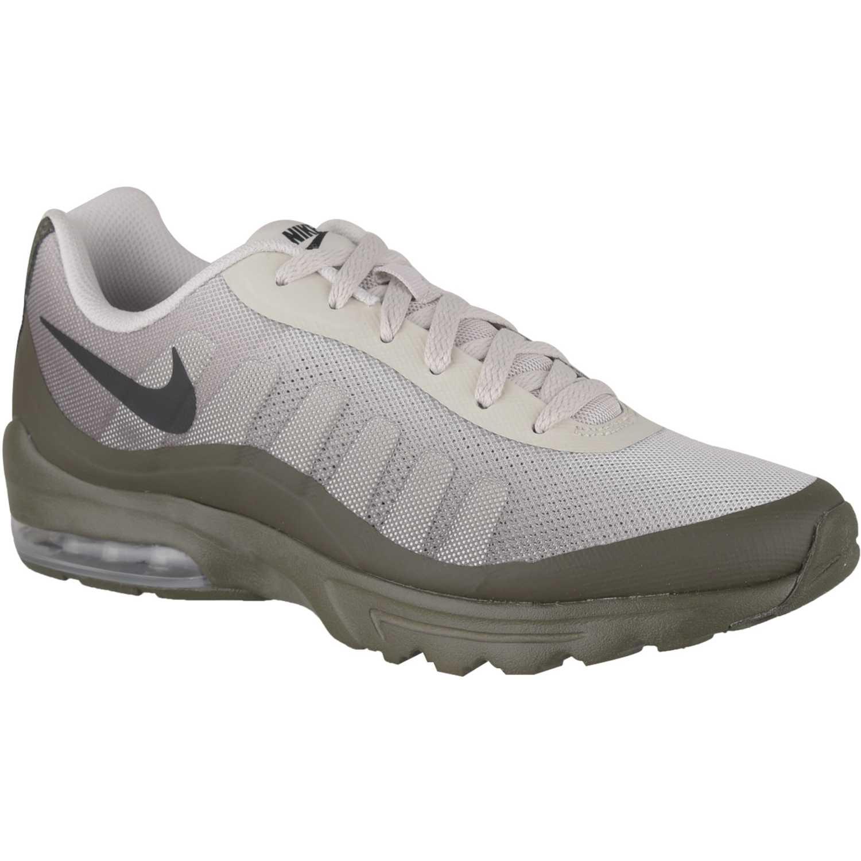 Nike nike air max invigor print Gris/olivo Walking