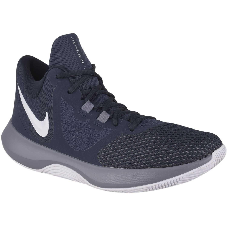 muy agradable imágenes detalladas obtener nueva Nike nike air precision ii Navy / Gris Hombres | platanitos.com