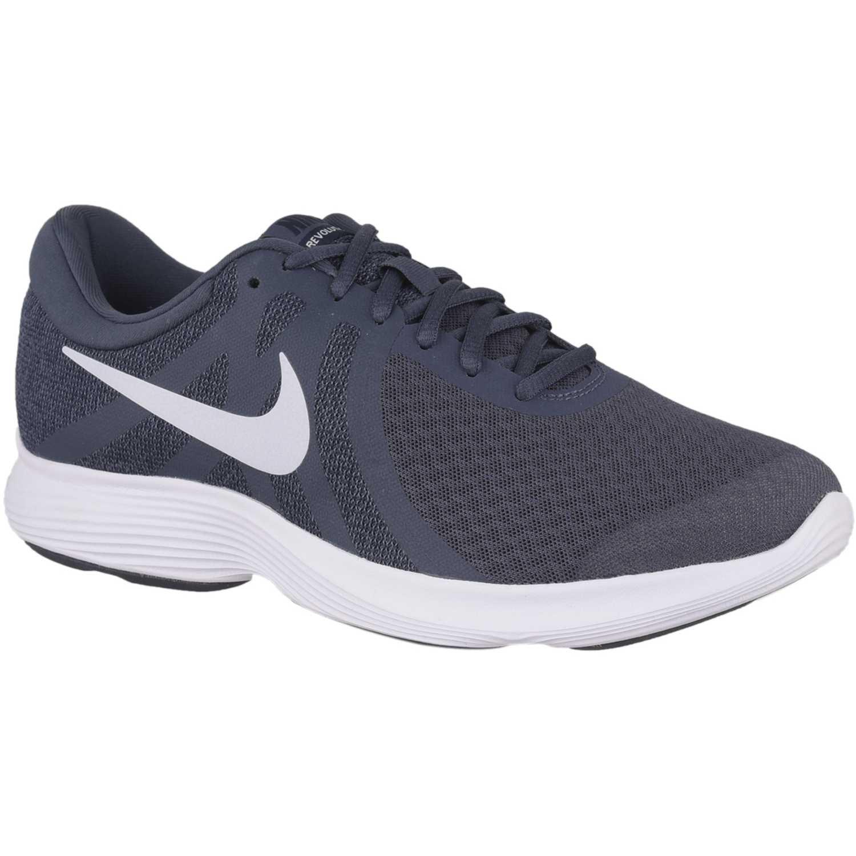 Deportivo de Hombre Nike Acero / blanco nike revolution 4
