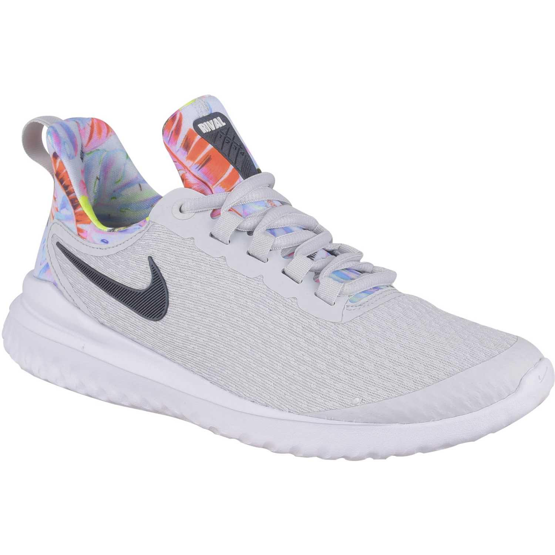 mayor descuento Tienda primer nivel Nike w nike renew rival premium Gris / negro Running en pista ...