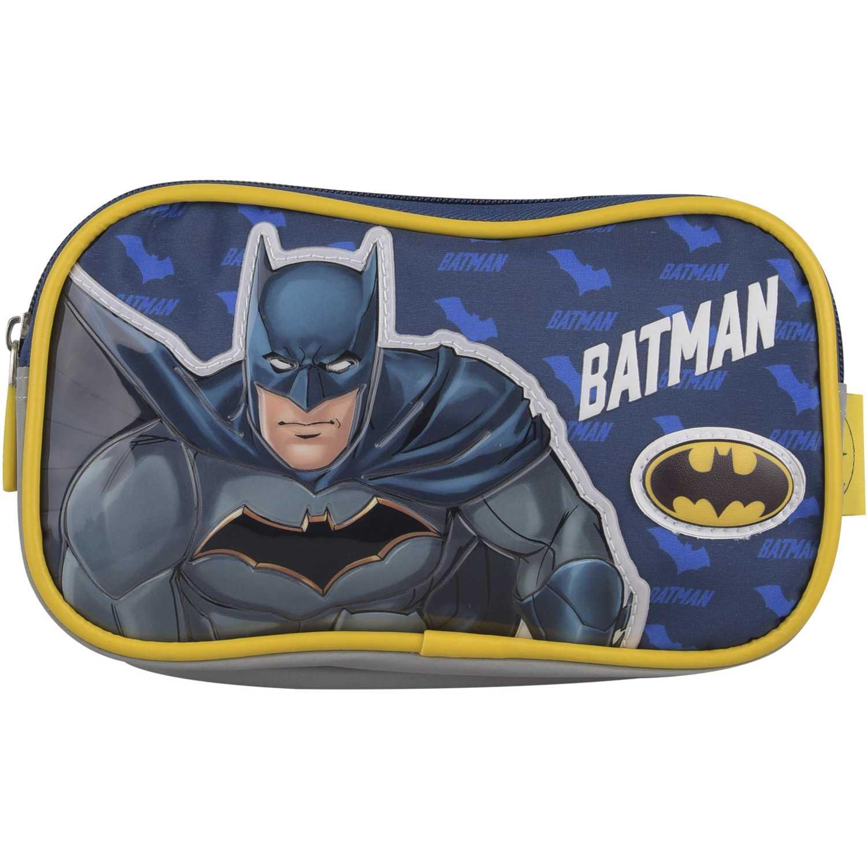 BATMAN cartuchera 2 cierres batman mascara Negro portalápices
