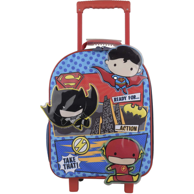 CHIBI Mochila con ruedas Chibi niño Rojo / azul Maletas para Niños