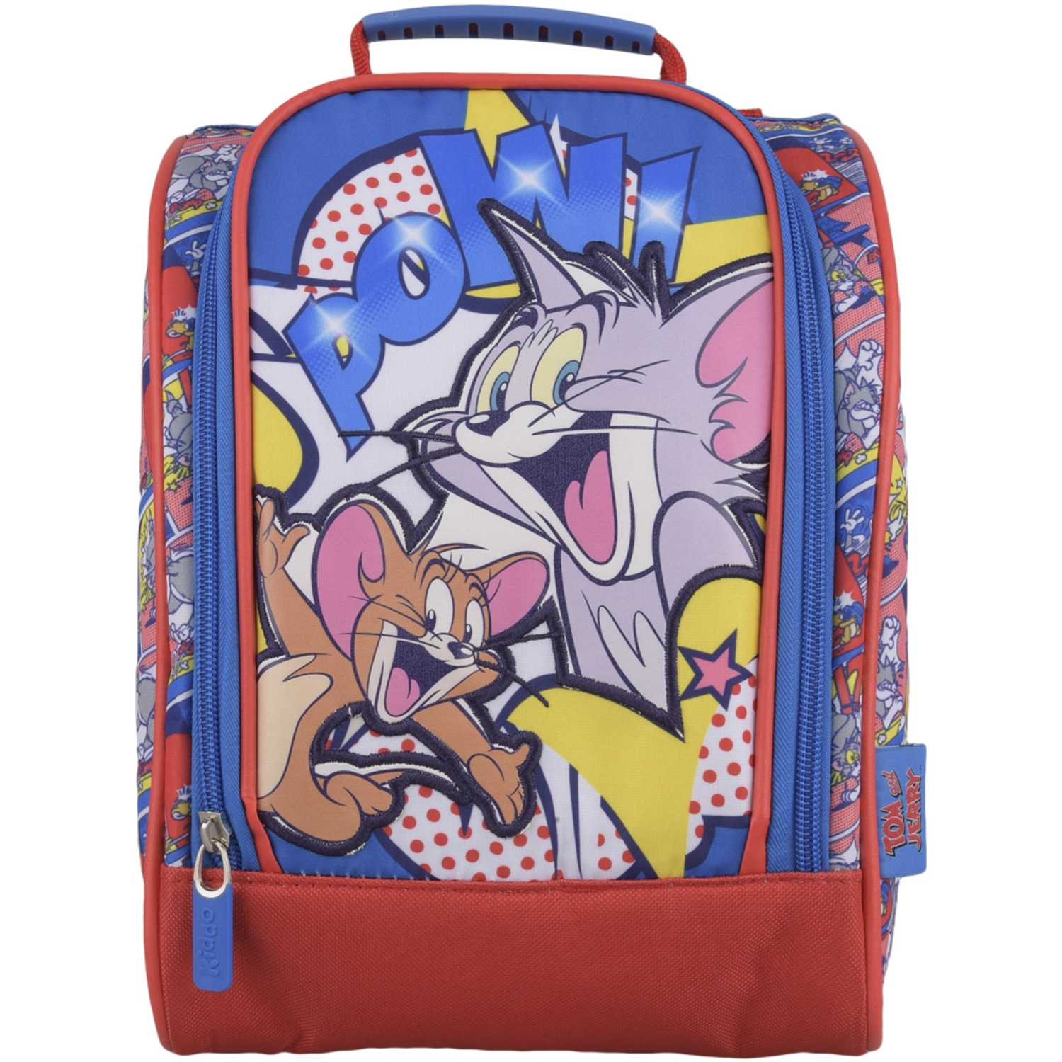 TOM & JERRY Lonchera Hk Tom & Jerry Pow Azul / rojo Loncheras