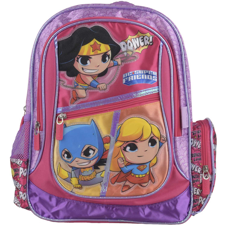 DC SUPER FRIENDS mochila dc super friends niña Rosado mochilas
