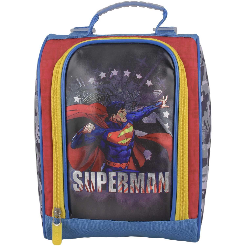 SUPERMAN Lonchera Hk Superman Estrellas Azul / rojo Loncheras