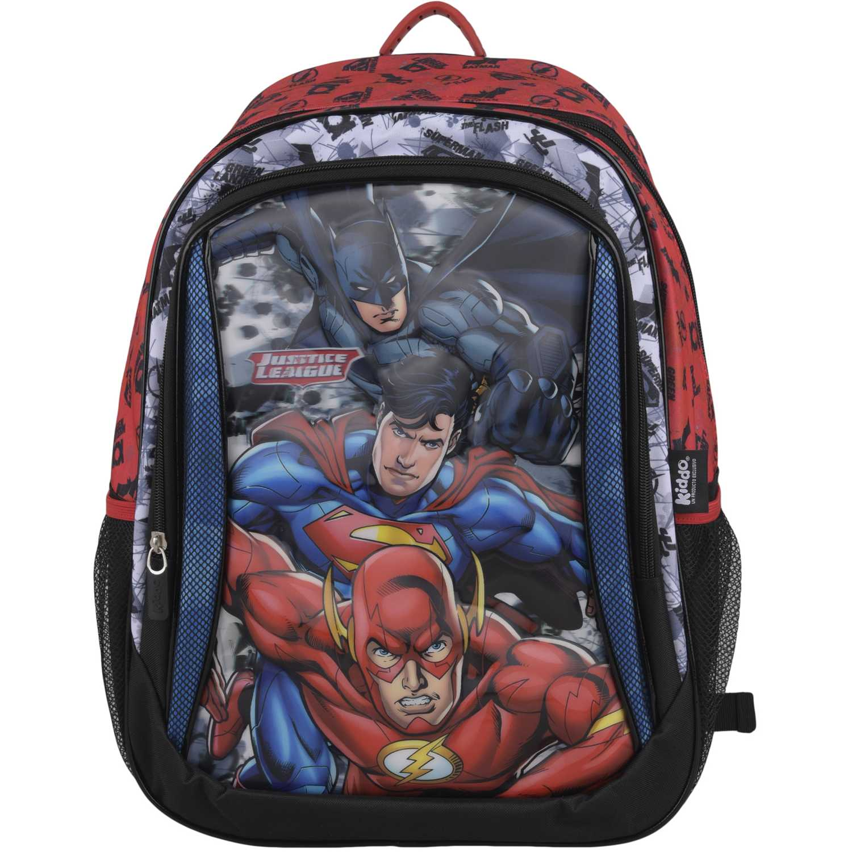 Liga De La Justicia mochila justice league 5d Negro / rojo mochilas