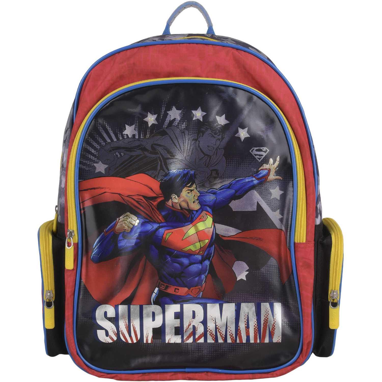 SUPERMAN Mochila Superman estrellas Azul / rojo Mochilas
