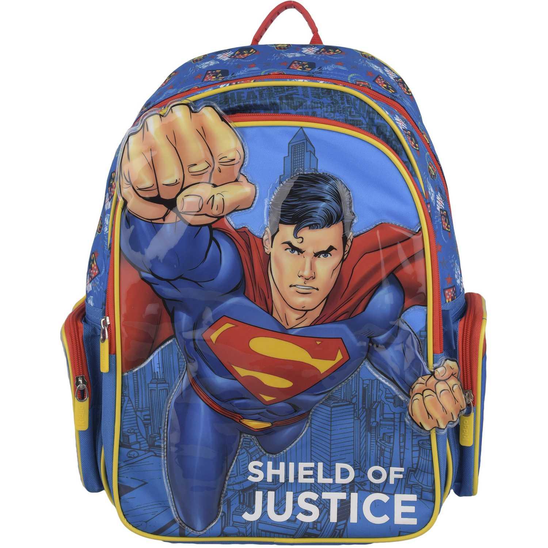 SUPERMAN mochila superman puño Celeste / rojo mochilas