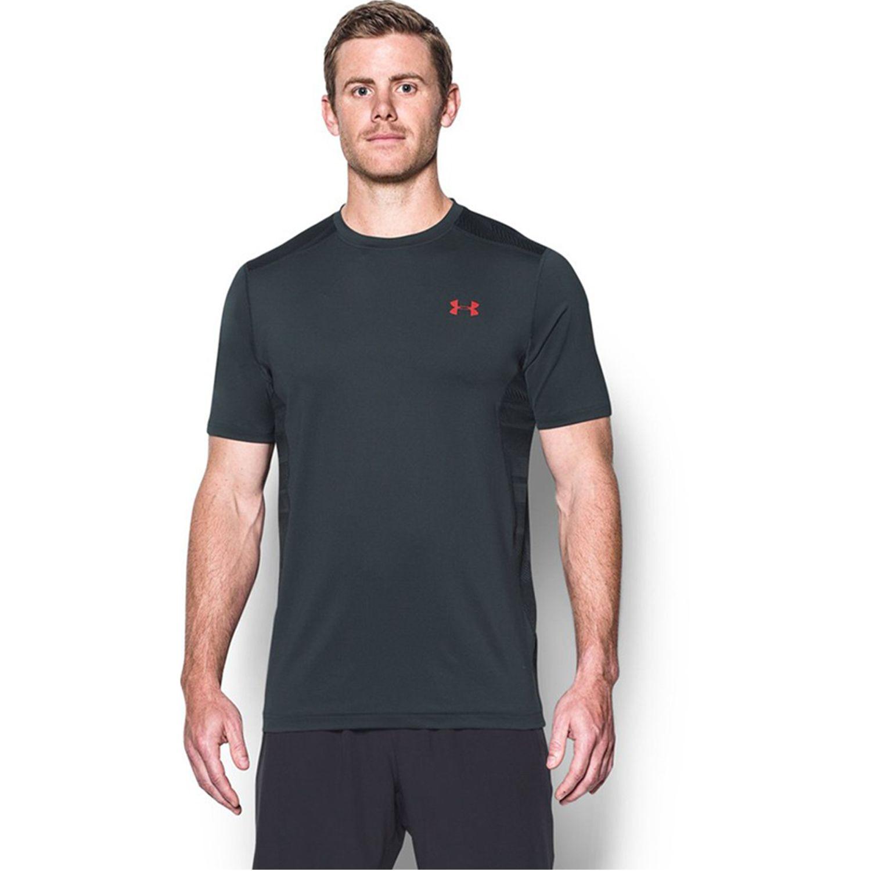 Under Armour ua raid ss Negro Camisetas y Polos Deportivos