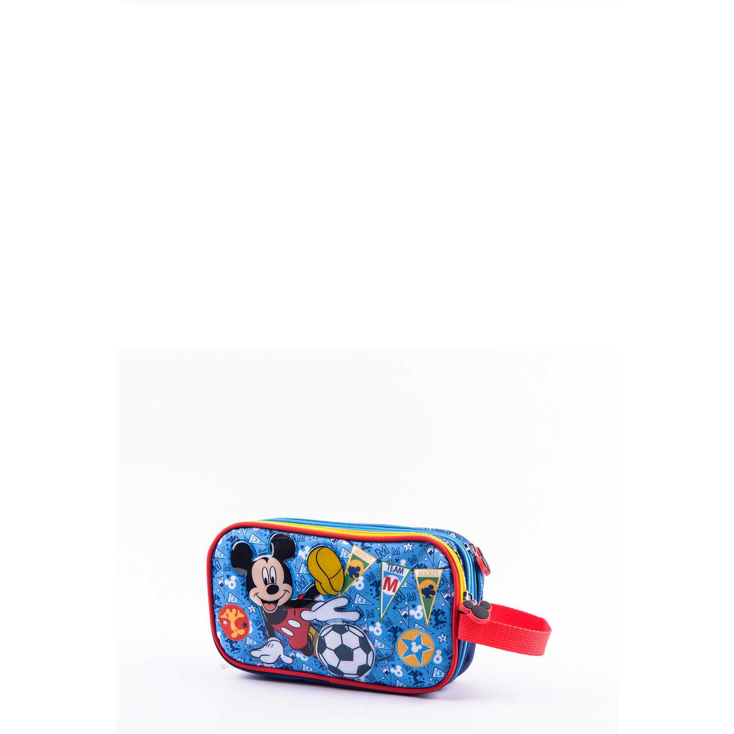 Cartuchera de Niño Scool Azul 9 scool mickey cart tela c/pvc d/cierre
