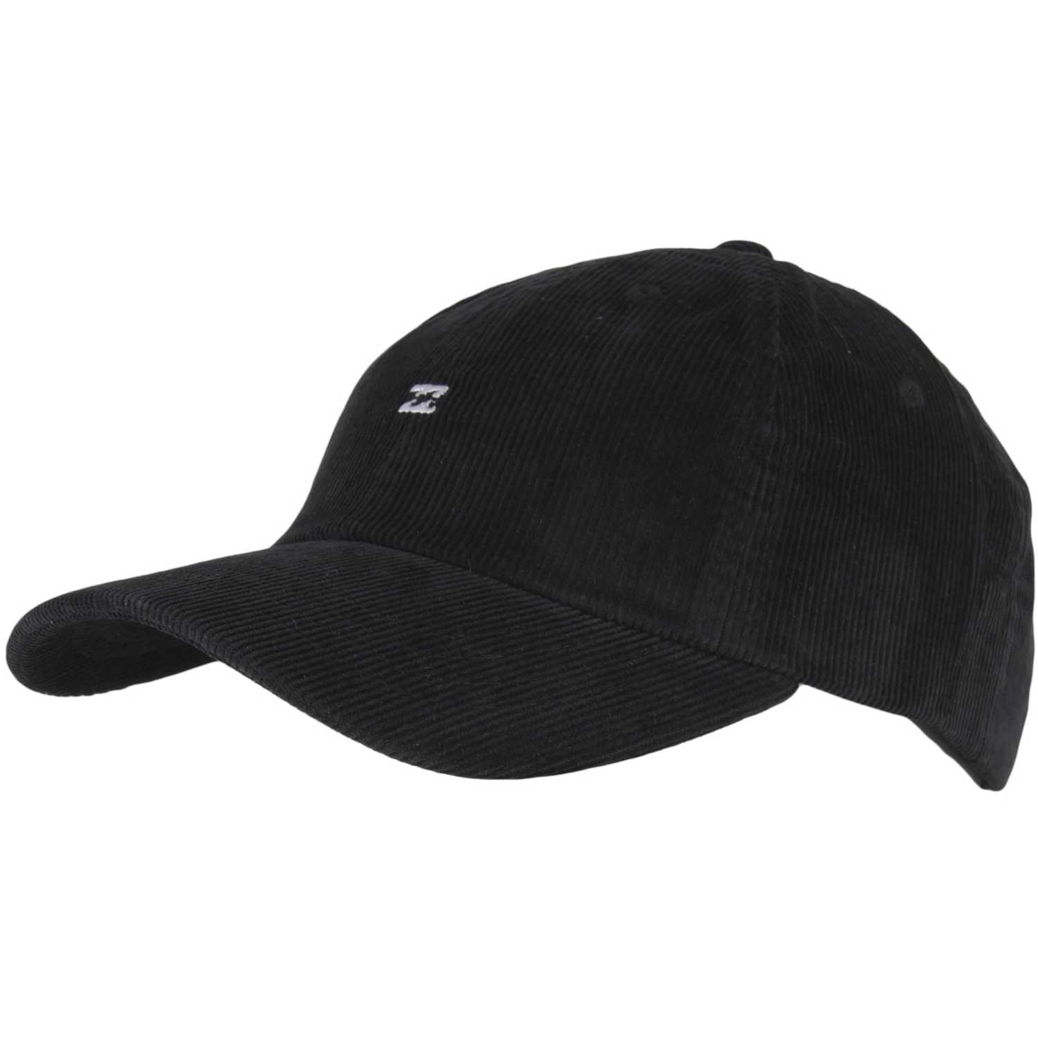 Billabong all day lad cap cord Negro Gorros de Baseball